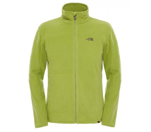 Polar The North Face M 100 Glacier Full Zip Verde