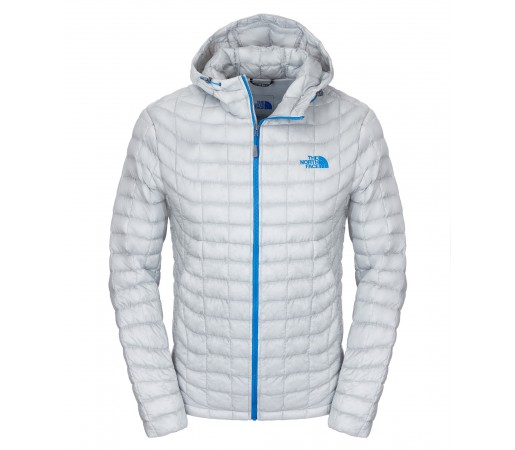 Geaca The North Face M Thermoball Hoodie Gri Deschis