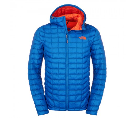 Geaca The North Face M Thermoball Hoodie Albastra