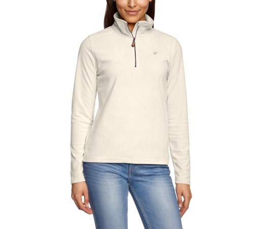 Bluza Brekka Microfleece Zippy Woman Alba