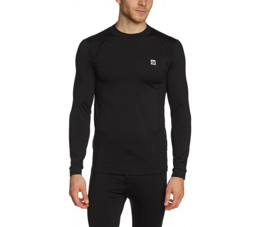Bluza First Layer Brekka Active Top Man Neagra