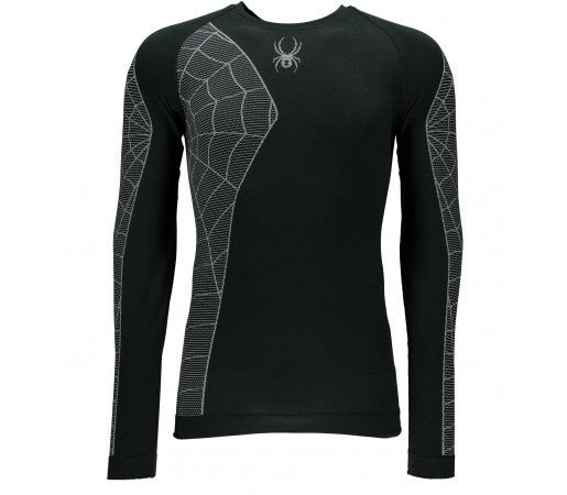 Bluza First Layer Spyder Skeleton (Boxed) Negru/Alb