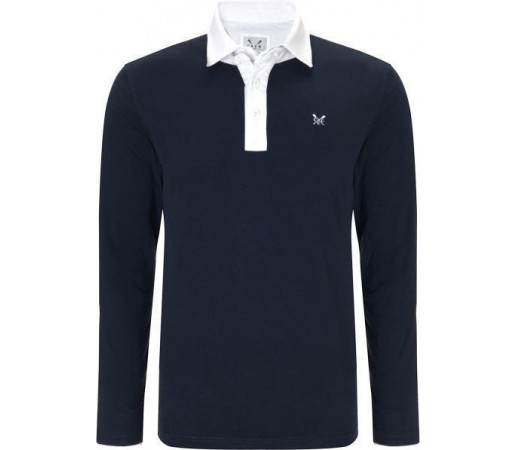 Bluza Crew Clothing Hartford Rugby Navy