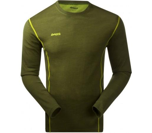 Bluza de corp Bergans Akeleie Verde