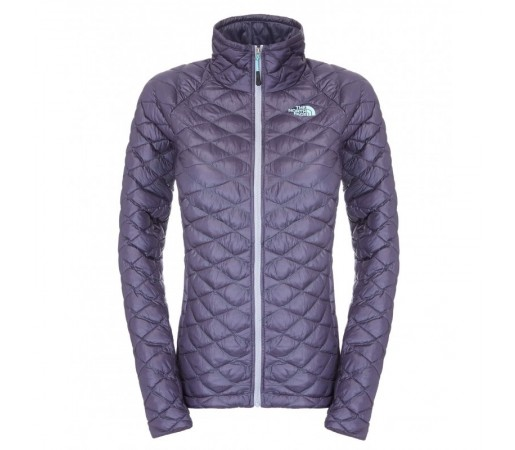 Geaca The North Face W Thermoball Full Zip Gri/Albastru
