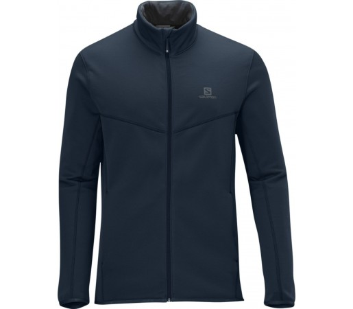 Bluza Salomon CRUZ FZ M BLUE