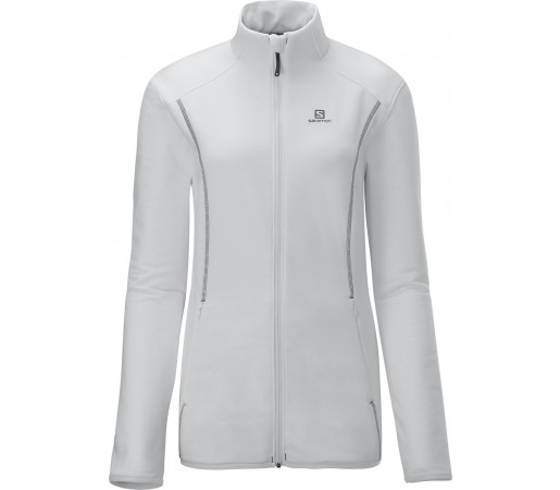 Bluza Salomon CRUZ FZ W WHITE