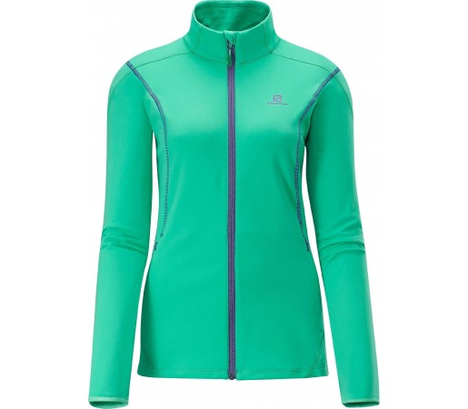 Bluza Salomon Discovery Fz Midlayer W Green