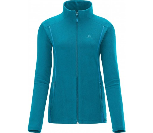 Bluza Salomon Panorama Fz Midlayer W Blue
