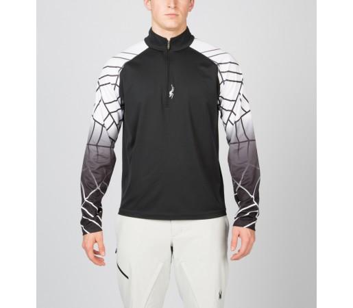Bluza Spyder Linear Web Negru/Alb