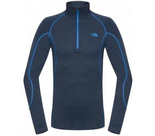 Bluza The North Face M Warm L/S Zip Neck Blue