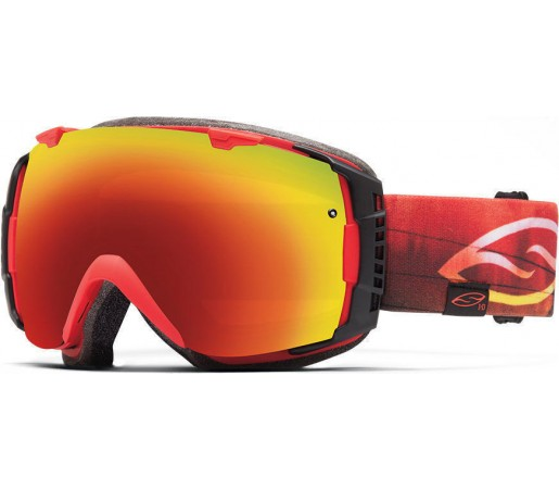 Ochelari Schi si Snowboard Smith I/O Bobby Skyline/Red Sol-X mirror