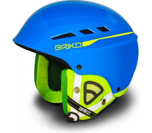 Casca Schi si Snowboard Briko Boom Blue/Lime
