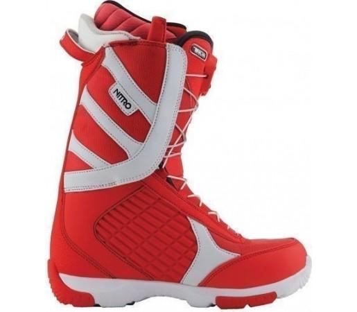 Boots Snowboard Nitro Axis TLS Rosu/Alb 2013