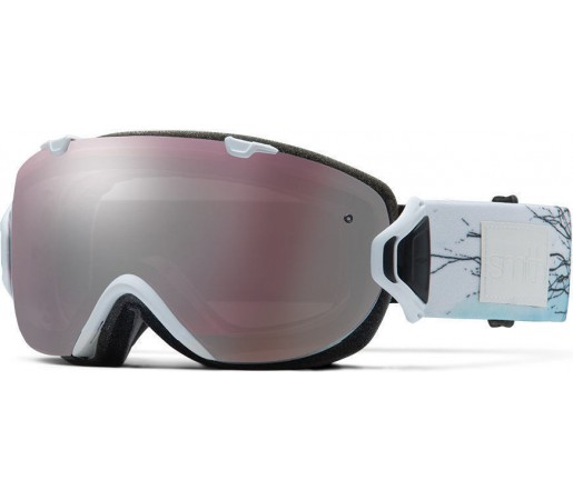Ochelari Schi si Snowboard Smith  I/OS White Branching Out / Ignitor mirror