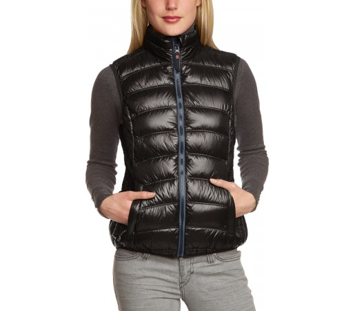 Vesta Brekka Holiday Down Vest Woman Neagra