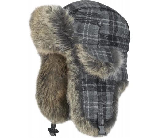 Caciula Brekka Wool Eco Russia Junior Gri