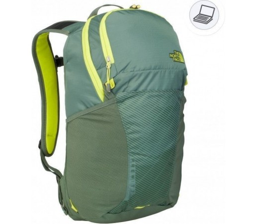 Rucsac The North Face Prewitt Green/Yellow