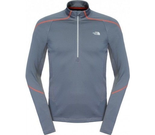 Midlayer The North Face M Valaste 1/2 Zipper Grey