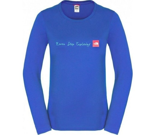 Bluza The North Face W NSE L/S Blue
