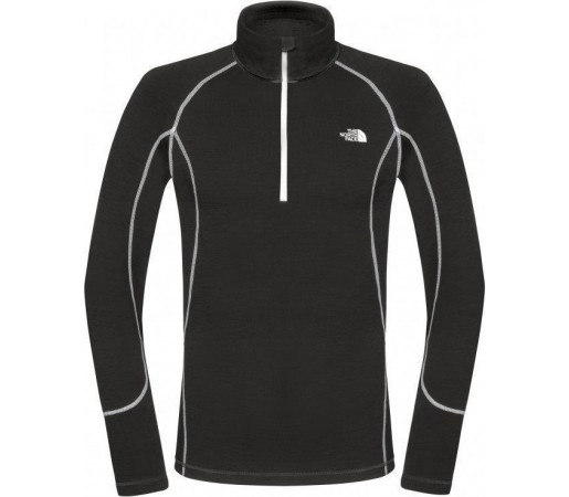 Bluza de corp The North Face M Warm Zip Neck Negru