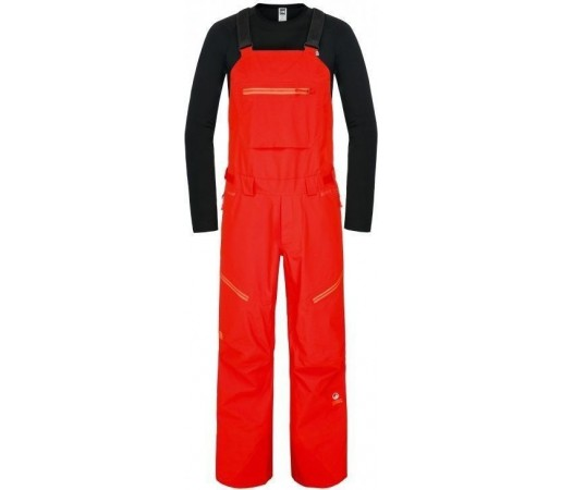 Pantaloni Ski si Snowboard The North Face M Free Thinker Bib Valencia Orange