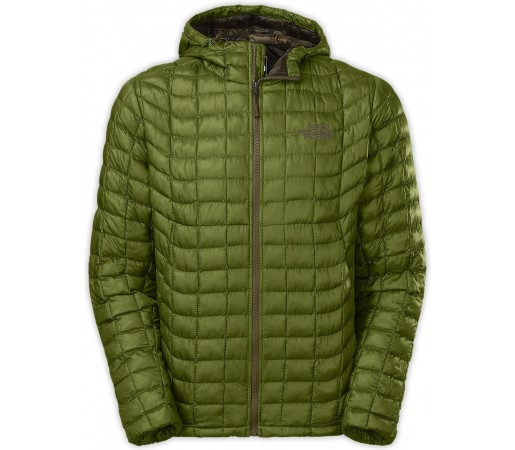 Geaca The North Face Thermoball Hoodie Verde