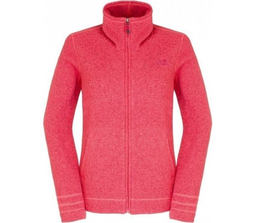 Midlayer The North Face Crescent Sunset FZ Pink