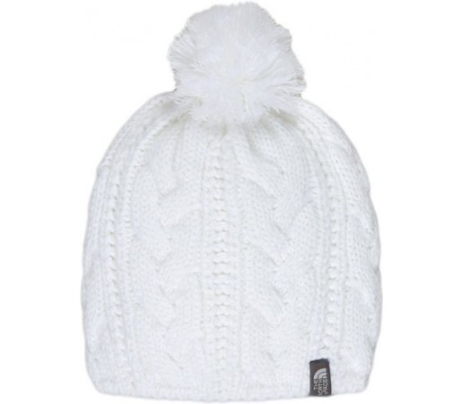 Caciula The North Face Bigsby Pom Pom White