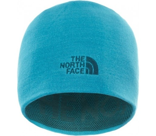 Caciula The North Face Ticker Tape Verde/Albastra