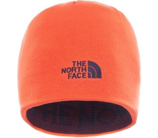 Caciula The North Face Ticker Tape Albastra/Portocalie