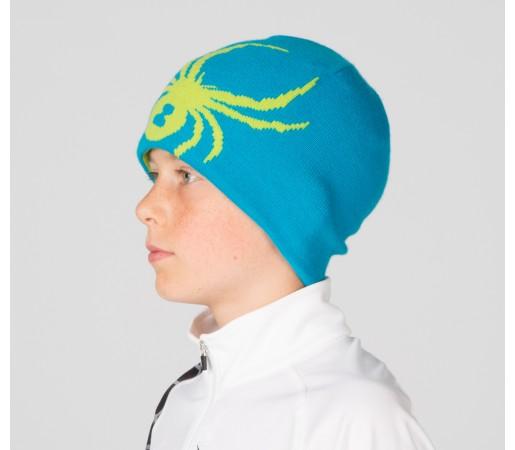 Caciula Spyder Boys Reversible Bug Albastru/Verde