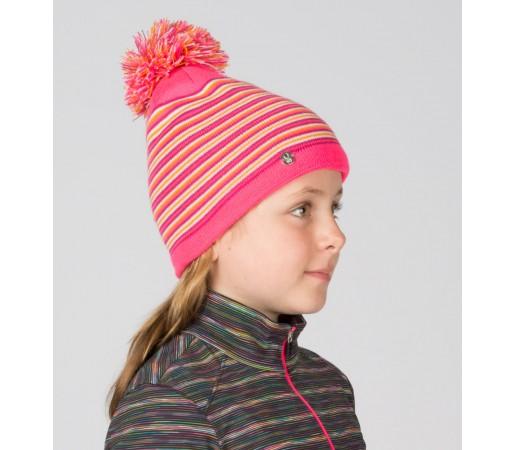 Caciula Spyder Girls Stripes Roz/Multicolor