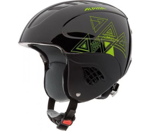 Casca Schi si Snowboard Alpina Carat Black Green