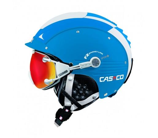 Casca Schi si Snowboard Casco SP-5 Albastru/Alb