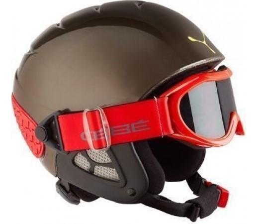 Casca Ski si Snowboard Cebe Twinny Gunmetal Red