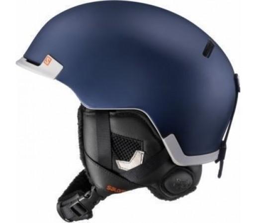 Casca Salomon Hacker Custom Air Blue Matt