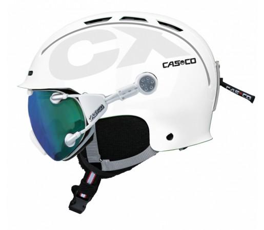 Casca Schi si Snowboard Casco CX-3 Icecube Alba