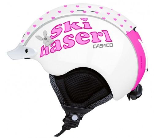 Casca Schi si Snowboard Casco Mini Pro Alb/Roz