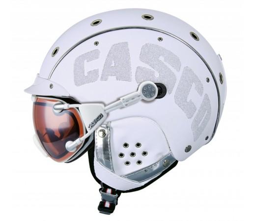 Casca Schi si Snowboard Casco SP-3 Limited Crystal Alba