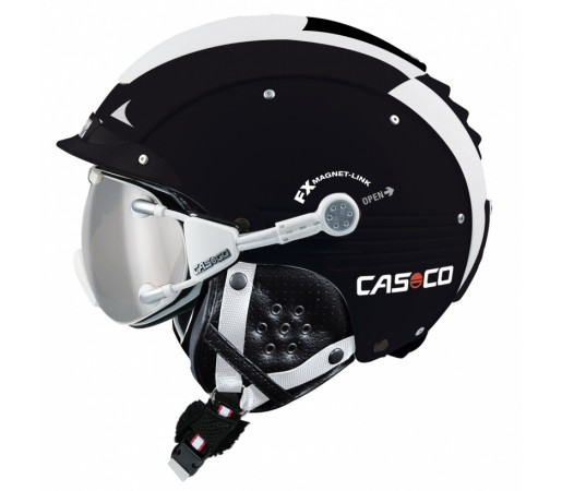 Casca Schi si Snowboard Casco SP-5 Negru/Alb