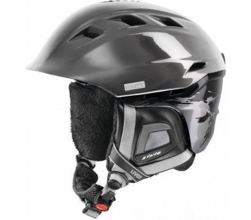 Casca Schi si Snowboard Uvex Comanche II Grey-  Black