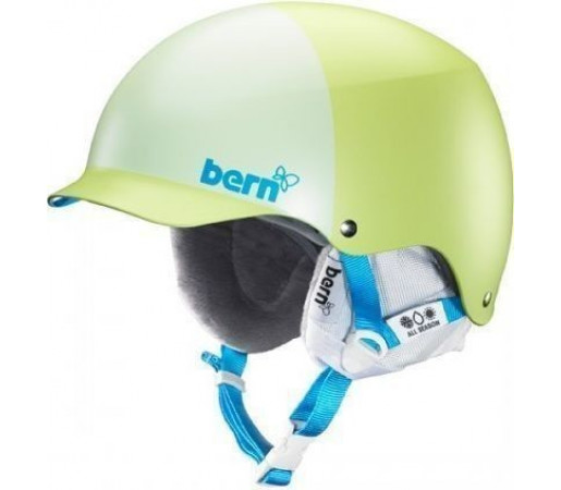 Casca Schi si Snowboard BERN Muse Matte Lime Green Hatstyle 2014