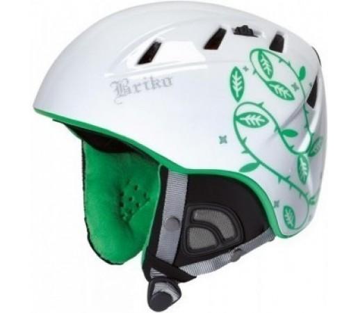 Casca Schi si Snowboard Briko Kodiak White/Green