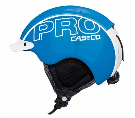 Casca Schi si Snowboard Casco Mini Pro Albastru/Alb