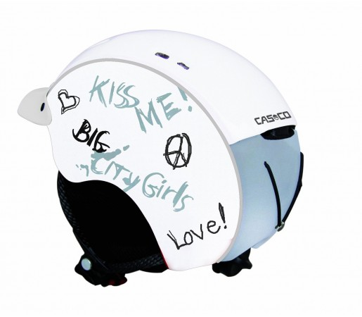 Casca Schi si Snowboard Casco Mini Pro Alba