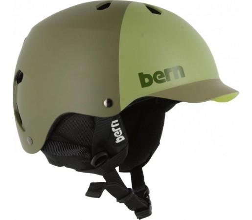 Casca Ski si Snowboard BERN Watts Matte Fatigue Hatstyle 2014