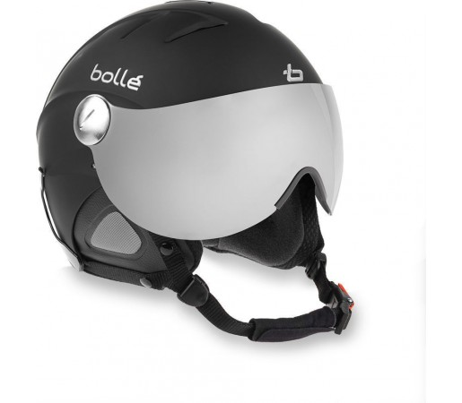 Casca Ski si Snowboard Bolle Slide Visor Soft Black grey flash lens + yellow lens