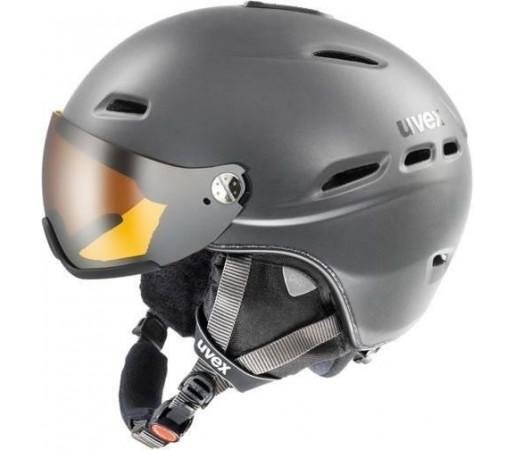Casca Ski si Snowboard Uvex HLMT 200 Visor Antracite