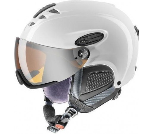 Casca Ski si Snowboard Uvex HLMT 300 Visor White